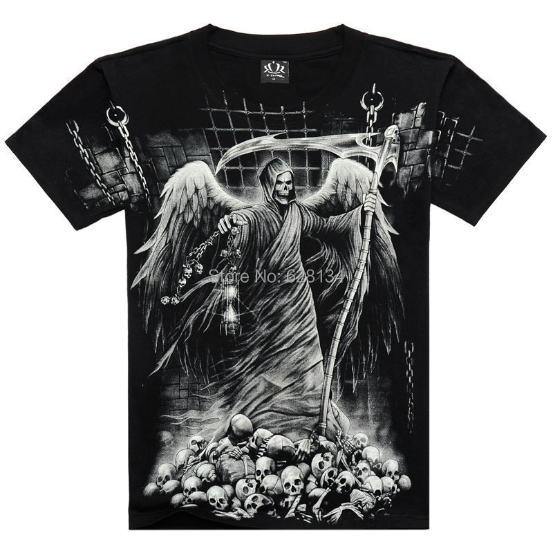 God Free Clothing Tshirt Clothes Skull God