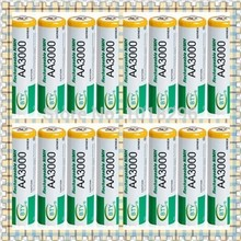 High quality 16 X BTY Ni-MH AA 3000 1.2V Rechargeable 2A Battery