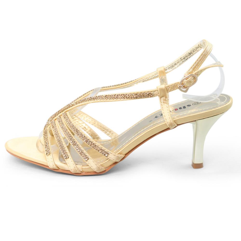 Gold Low Heel