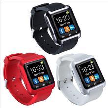 2016 смарт часы Android часы inteligente, Браслет часов пара для Samsung IOS Iphone Huawei Xiaomi Android телефон Smartwatch U80