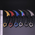 New Hot 20 Color Handmade Hunting Karambit Knife CS GO Counter Strike Fighting Survival Tactical Knife
