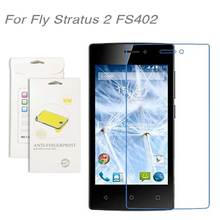 For Fly Stratus 2 FS402 film,3pcs/lot High Clear LCD Screen Protector Film Screen Protective Film FS402
