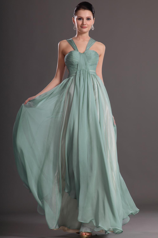 Plain elegant prom dresses - Dress on sale