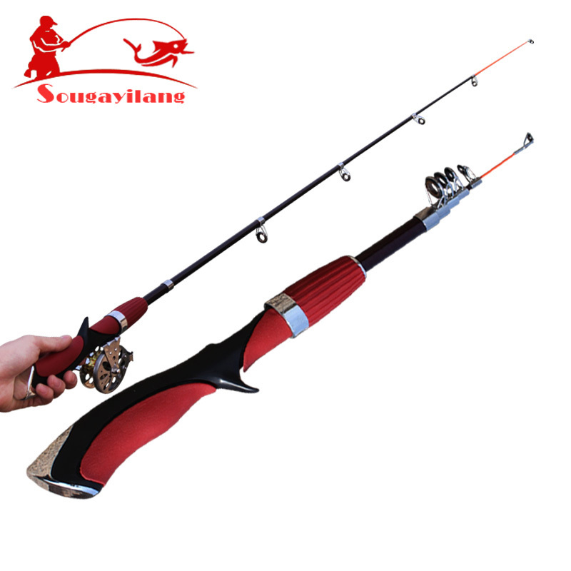 Buy new 140cm mini pole carbon fiber for Best fly fishing rods
