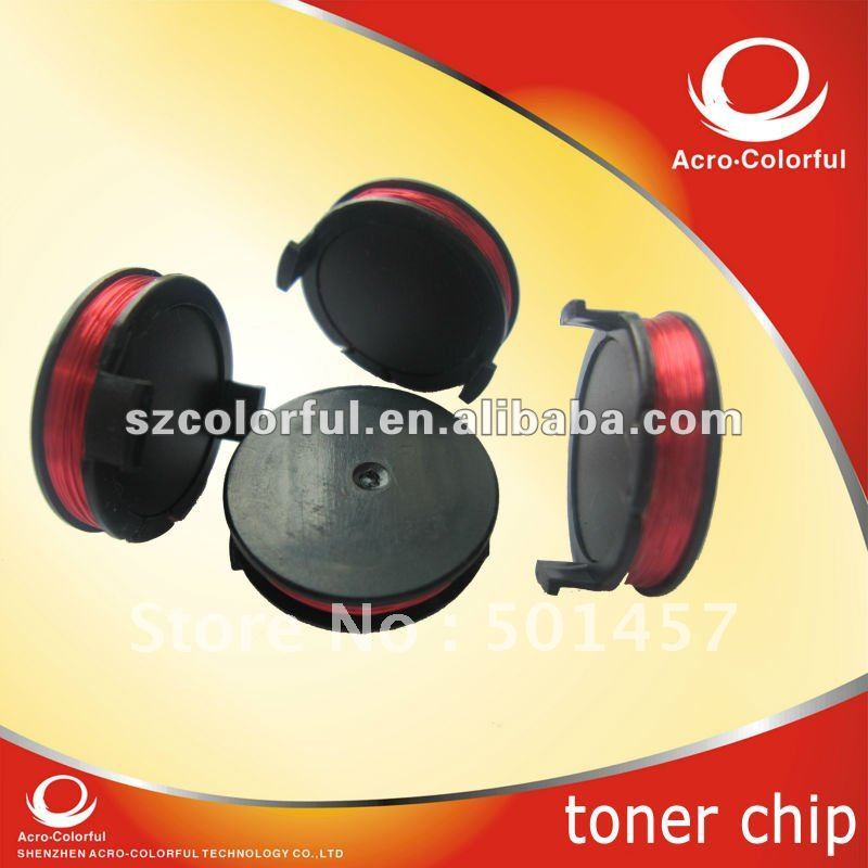 3010 Color Toner chip Laser Printer Cartridge Chip Reset for Dell 3010cn Black Refilled cartridge 341-3568(China (Mainland))