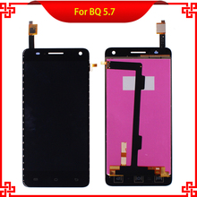LCD Display Touch Screen Digitizer For BQ Aquaris 5.7 Discount Promotional Black Replacement Mobile Phone LCDs Free Shipping