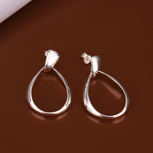 wholesale 925 sterling silver earrings,925 silver fashion jewelry waterdrop stud Earrings for women SE352(China (Mainland))