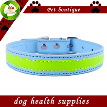 Персонализированные Дизайн, Отражающий Ошейник Мигает Кожаный Ошейники Для Собак Безопасности Пешеходного Small Pet Products Собак Предметов Медицинского Назначения
