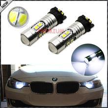 Buy Xenon White Error Free PW24W LED Bulb BMW F30 3-Series 320i 328i 335i Volkswagen MK7 Golf GTi Daytime Running Lights for $14.23 in AliExpress store