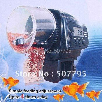 Wholesale&Retail LCD Timer Automatic Auto Aquarium Fish Tank Food Feeder Automatic Feeder AF-2005D