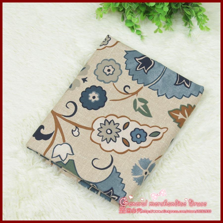 1pcs 140 50cm Blue cockscomb series totem patchwork baby cloth font b tartan b font ethnic