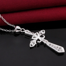 Fresh design crystal jewlery women fashion new arrivals charming jewelry 925 sterling silver necklace free shipping
