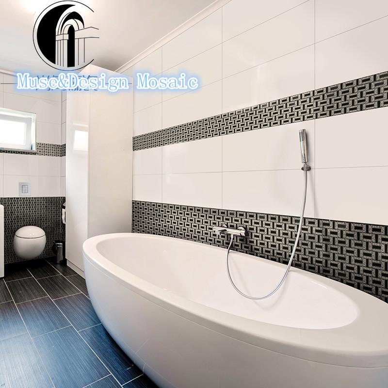 aliexpress   buy silver white black mosaic for kitchen