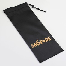 10 in 1 lot Black Satin sex toys Bag With SMSPADE logo, sexy packaging bag for your sex toy,adult sex products B-01