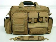 Airsoft Utility Briefcase Shoulder Bag Coyote Brown(China (Mainland))