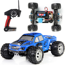 1/18 Electric rc car 4wd shaft drive trucks high speed radio control off road vehicle rc monster truck hot sale(China (Mainland))