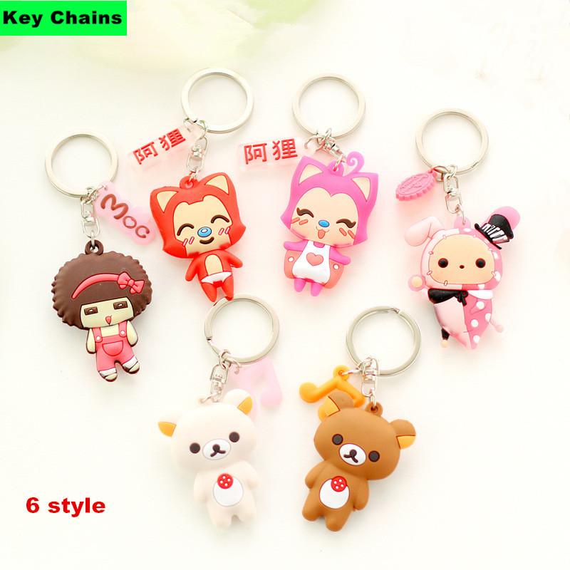 how to make cute key rings