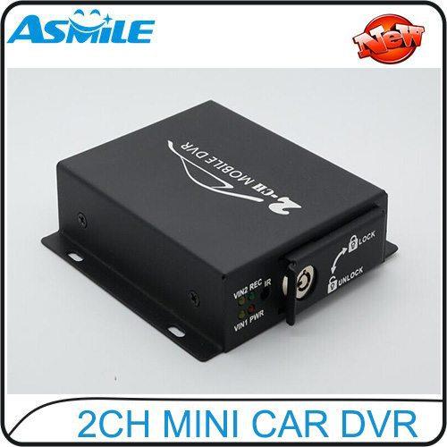 hot sale 2ch mini car dvr from asmile