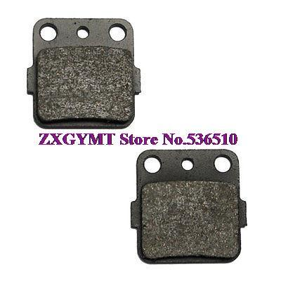 Brake Pads 2006 2007 2008 2009 fit Kawasaki Kx 100 Kx100 XH Carbon Rear Brake Pads X-1834(China (Mainland))