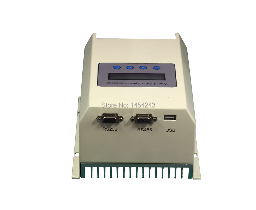 12V 300W Boost Voltage MPPT Wind Solar Charge Controller with RS232(China (Mainland))