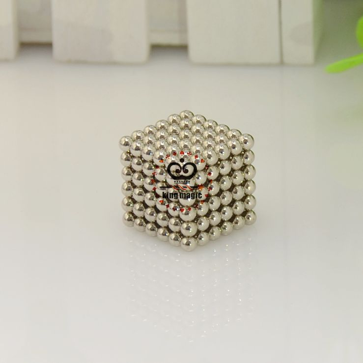 D3 Size:3mm 216pcs/set With Metal Box Buckyball Neo cube Magnetic Ball Neocube Educational Color:Nickel,gold,black-nickel,silver(China (Mainland))