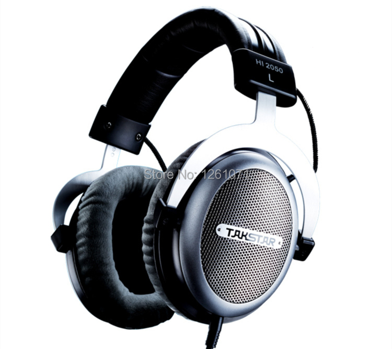 HiFi Open Dynamic Over ear Audio Monitor studio headphones Music Headset PRO DJ headphone Takstar HI2050 for Home entertainment(China (Mainland))