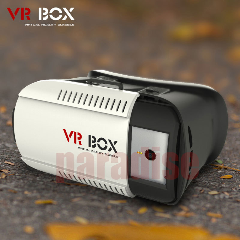 2015 Google cardboard VR BOX Version VR Virtual Reality Glasses Smart Bluetooth Wireless Mouse Remote Control