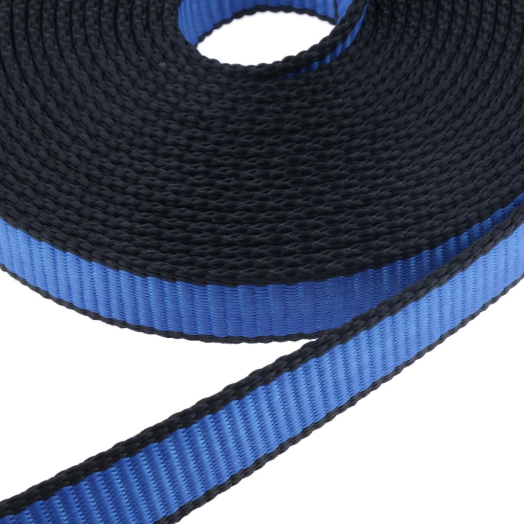 1 Piece Climbing Sling Rappelling Safety Belt for Rock Climbing Black 130cm
