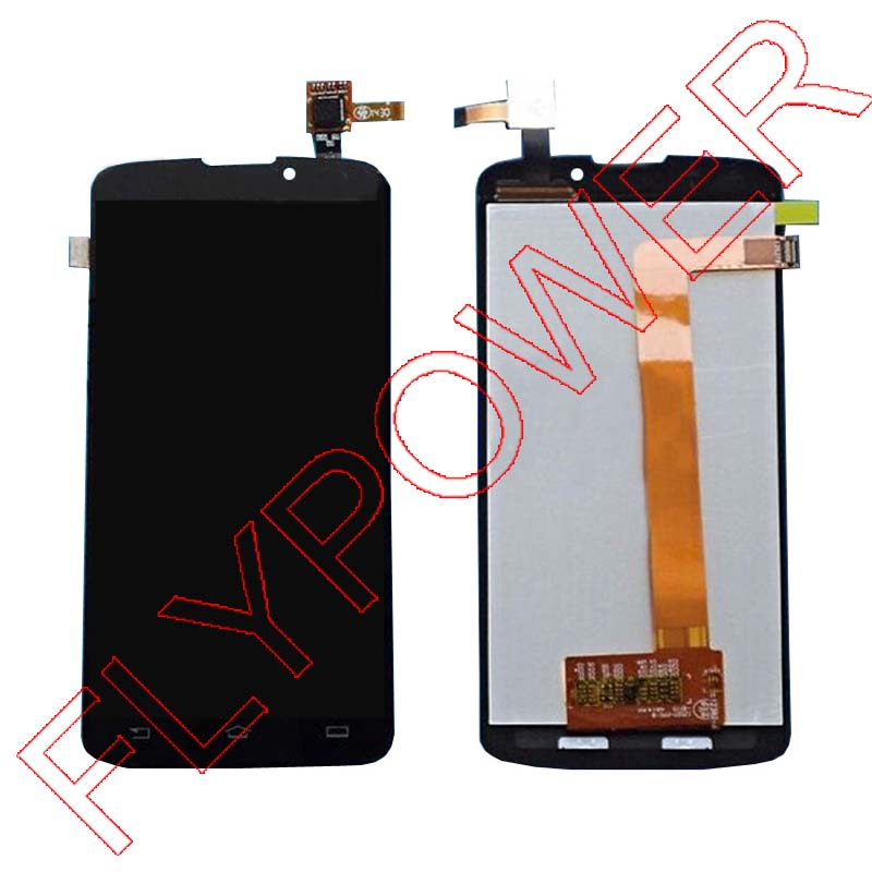 Фотография 100% New LCD Screen Display + Touch Screen Digitizer Glass assembly FOR Philips Xenium V387 by free shipping