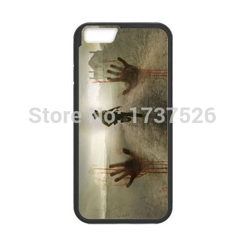 The Walking Horrible Dead custom hard plastic mobile cell phone bags case cover for iphone 4 4s 5 5s 5c 6 plu(China (Mainland))