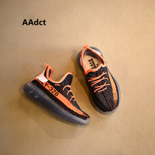 AAdct fashion children yeezy shoes sports boys sneakers Breathing knitted running little toddler girls shoes(China (Mainland))