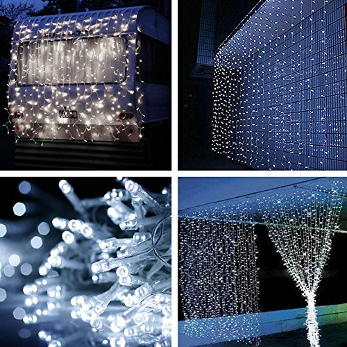 YG 3M x 1M 160 LED Outdoor Waterproof Christmas Decorative xmas String Fairy Curtain Icicle Lights For Wedding Party(China (Mainland))