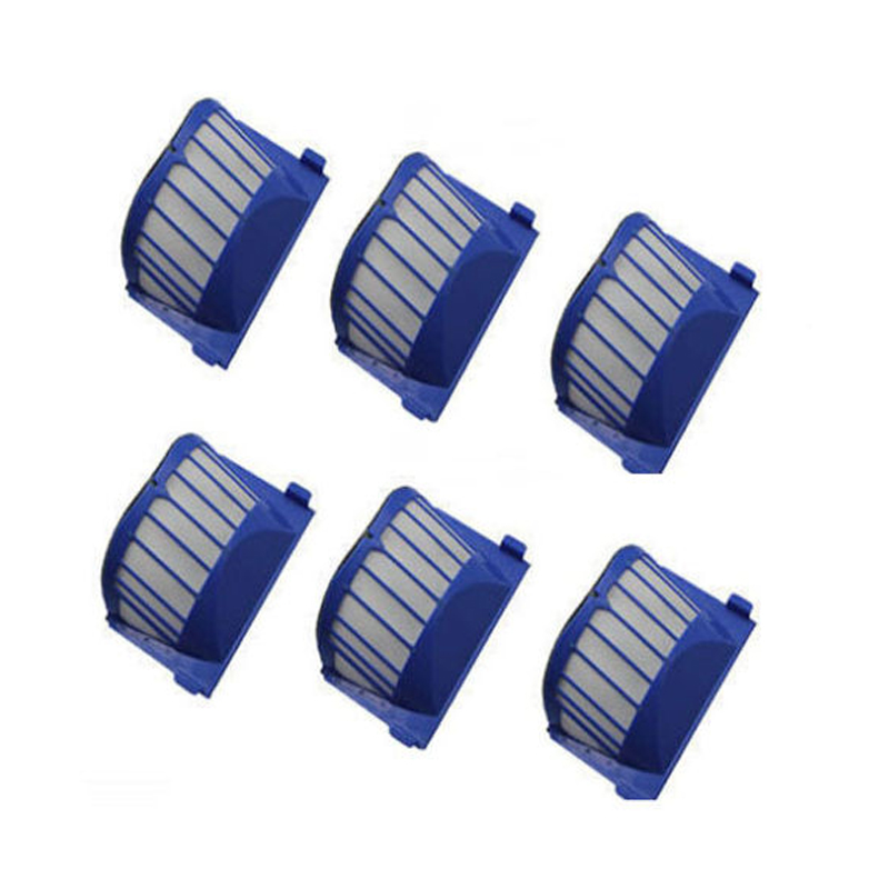 6 x AeroVac Filters for iRobot Roomba 500 600 Series 536 550 551 564 620 650 660(China (Mainland))