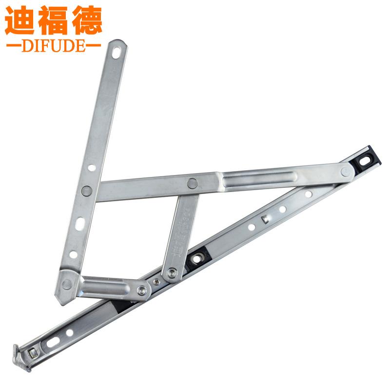 Casement hung windows slide up and down the support bracket 304 stainless steel wind bracing Aluminium windows hinge steel