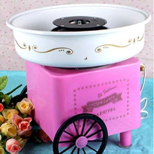 2014Hot Sell Nostalgia Cotton Candy Maker Machine 220V Do It By Buyerself 1piece Free Shipping