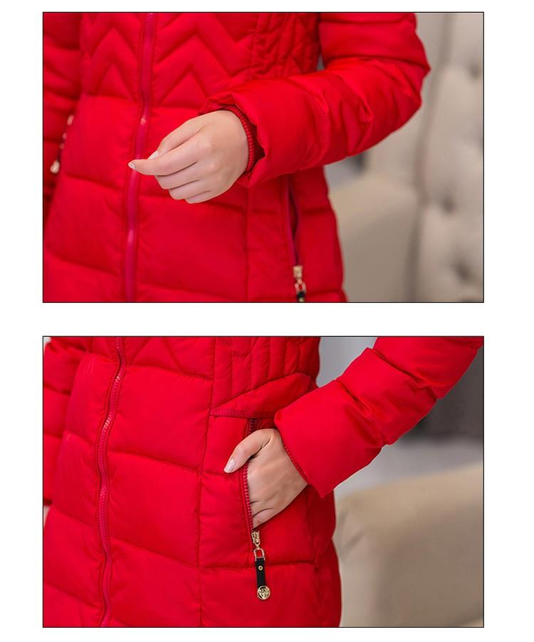 Скидки на М-4XL Новых Женщин Искусственного Меха С Капюшоном Зима Толстые Теплые Парка Ватные Куртки Женский Хлопка Куртки Верхняя Одежда Slim Down Парки Пальто