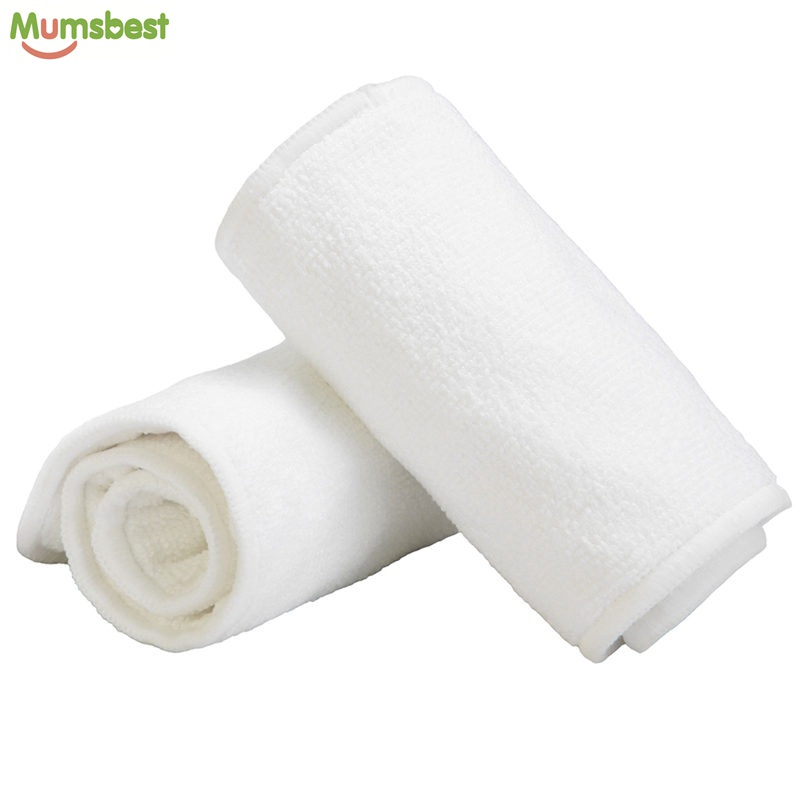 [Mumsbest] Washable Reuseable Baby Cloth Diapers Nappy inserts microfiber 3 layers Easy Use Soft And Breathable Diaper(China (Mainland))