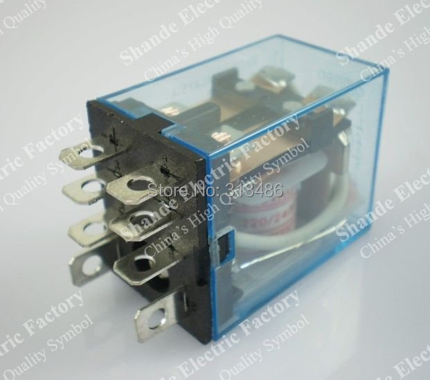 General Purpose Relay LY2 with relay base,8 pins,dpdt,Silver Alloy Contacts ,with socket(China (Mainland))