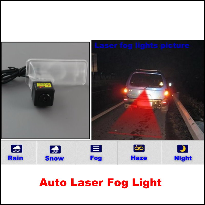 Auto Rain, Fog, Snow, Dust And Haze For Laser Lights, Special Weather Driving Safety Light /  For Subaru Forester SJ