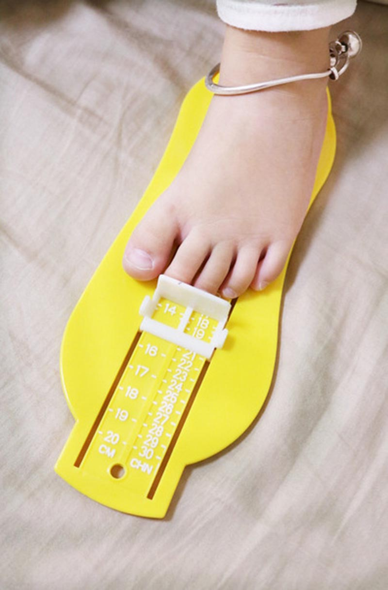 Baby Feet Length Growing Measuring Ruler Shoes Fittings Gauge Tool Subscript Foot Tool Protractor Scale Calculator