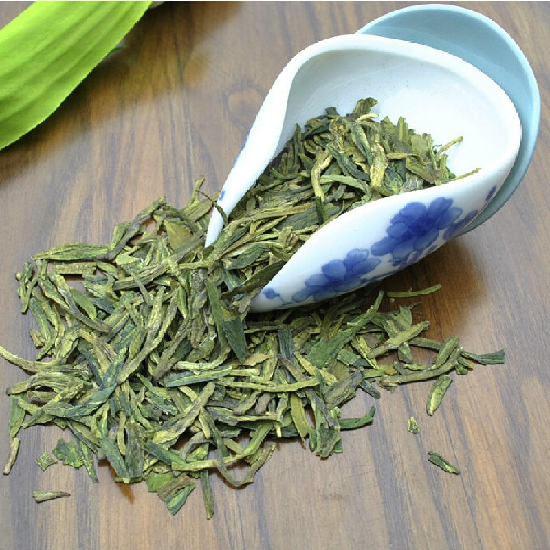 2015 Manually Making Xihu Longjing Green Tea Yuhou Chinese Green Tea Long Jing China West Lake