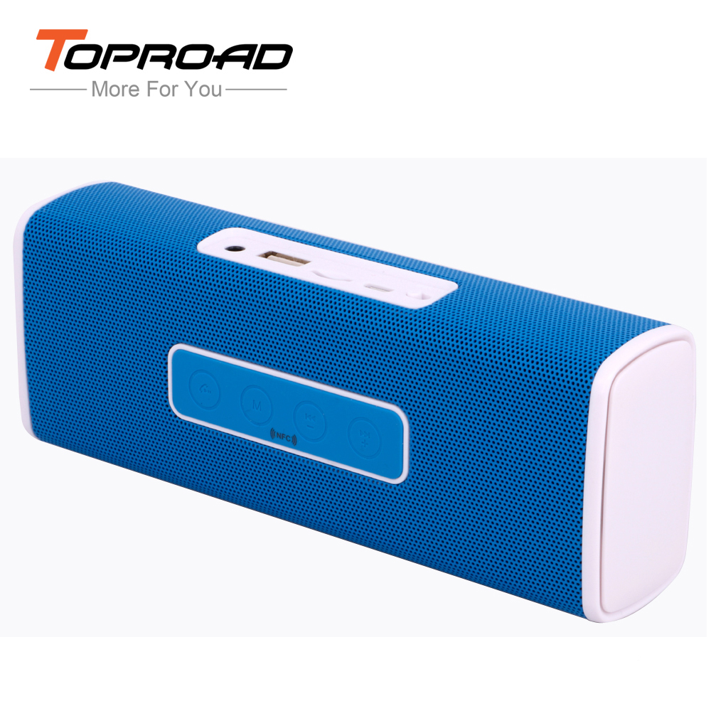 Protable Mini Boombox Bluetooth Speaker with NFC Stereo Audio Receiver Support TF FM Radio Sound Box for Mobile Phones Tablet(China (Mainland))