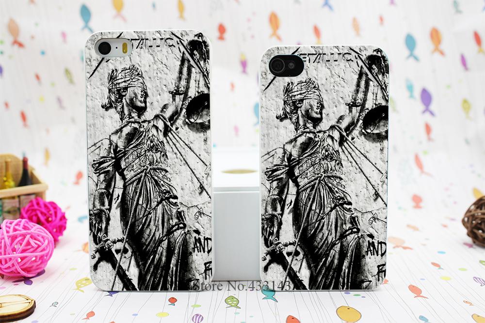 Heavy Metal Band Metallica Best Design Hard White Skin Case iPhone 5 5s 5g 5th Cover - Shenzhen ZhuoYou Technology Co.,LTD store