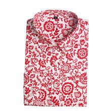 Floral Blouses Cotton Shirts Women Blouse Vintage Shirt Turn-Down Collar Tops Blusa Feminina Long Sleeve Women Shirts 2015(China (Mainland))