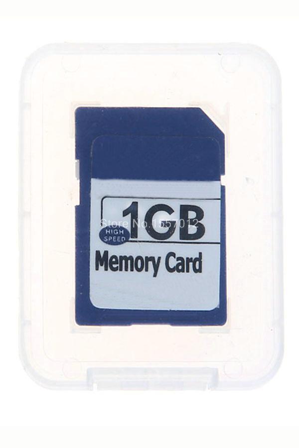 hot selling free shipping 1GB SD card Secure Digital Memory Card(China (Mainland))