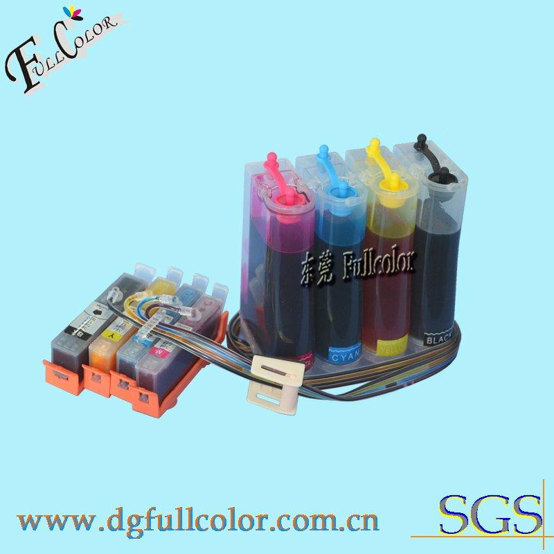 Здесь можно купить  Free shipping  ink system CISS for HP Photosmart 5520 with new permanent chip and inks  Компьютер & сеть