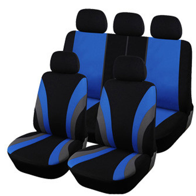 CAR PASS-9PCS Auto Interior Accessories Classic Design Styling Car Seat Covers Universal Car-covers Protector 2016(China (Mainland))