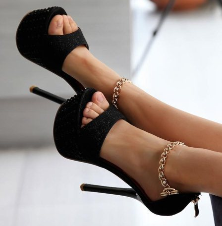 Free shipping NEW high heel sandals platform fashion women dress sexy slippers shoes pumps footwear P1250 EUR size 34-39<br><br>Aliexpress