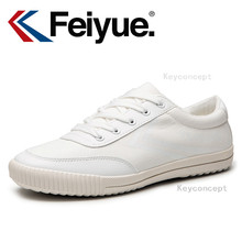 Keyconcept 2016FeiyueNew white shoes Simple and Chic Design Men shoes Women shoes