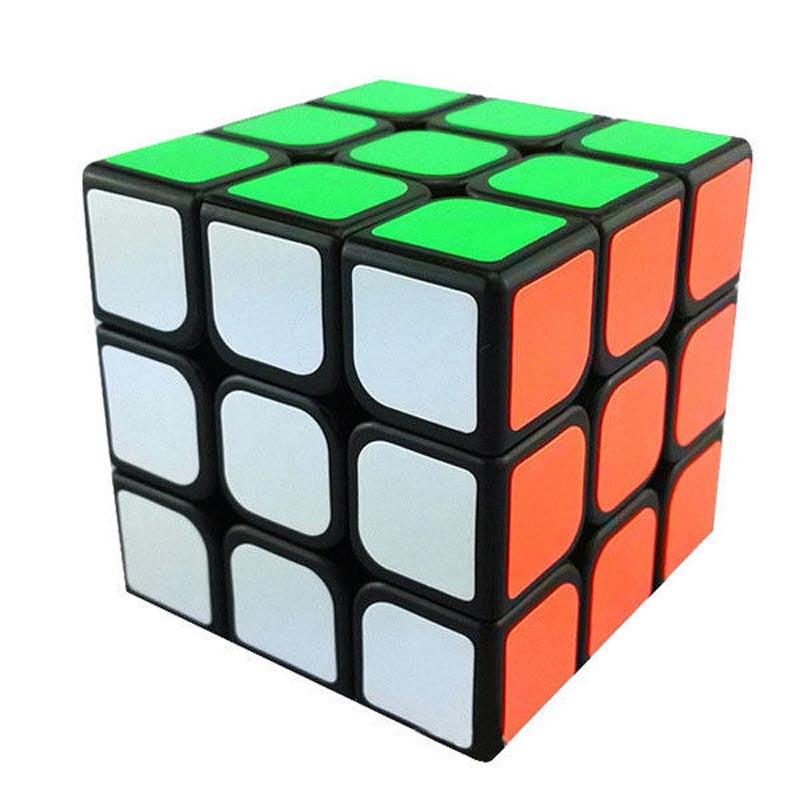Yongjun Guanlong High Quality 3x3x3 Twist Spring Speed Magic Cube Puzzle Toy Cubo Magico Kids Gift(China (Mainland))